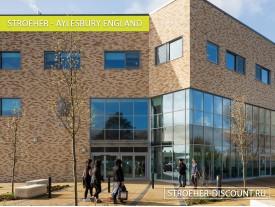 Фасадная плитка для Бизнес Центров - «Aylesbury England»