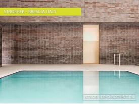 Фасадная плитка для Спортивные сооружения - «Brescia Italy»