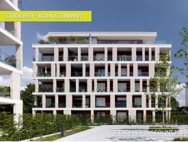 Фасадная плитка для Жилых комплексов - «Koln Germany»