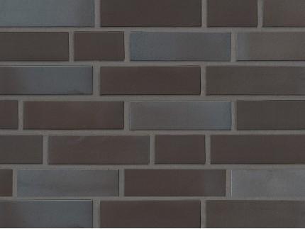 Клинкерная плитка Stroeher - «336 METALLIC SCHWARZ»
