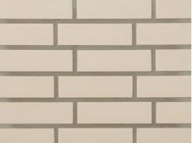Клинкерная плитка Stroeher для вент. фасадных систем с пропилом и затиркой швов - «140 WEISS»