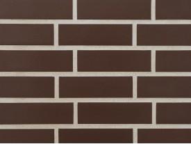 Клинкерная плитка Stroeher для вент. фасадных систем с пропилом и затиркой швов - «210 BRAUN»