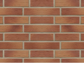 Клинкерная плитка Stroeher для вент. фасадных систем с пропилом и затиркой швов - «413 UTRECHT»