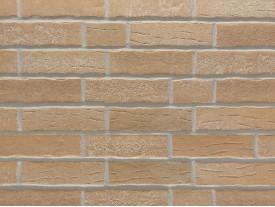 Клинкерная плитка Stroeher для вент. фасадных систем с пропилом и затиркой швов - «371 SILBERBEIGE»