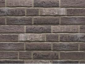 Клинкерная плитка Stroeher для вент. фасадных систем с пропилом и затиркой швов - «375 PLATINGRAU»