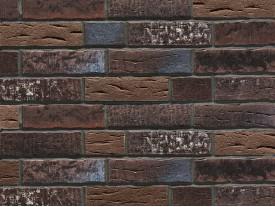 Клинкерная плитка Stroeher для вент. фасадных систем с пропилом и затиркой швов - «377 PLATINBRAUN + 429 AARDENBURG»