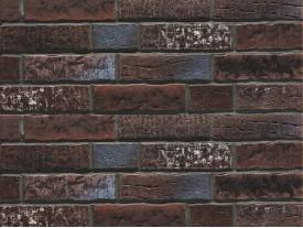 Клинкерная плитка Stroeher для вент. фасадных систем с пропилом и затиркой швов - «377 PLATINBRAUN»