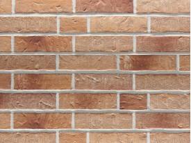 Клинкерная плитка Stroeher для вент. фасадных систем с пропилом и затиркой швов - «354 BRONZEBRUCH»