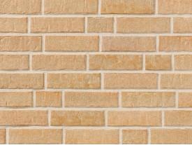 Клинкерная плитка Stroeher для вент. фасадных систем с пропилом и затиркой швов - «355 SANDSCHMELZ»