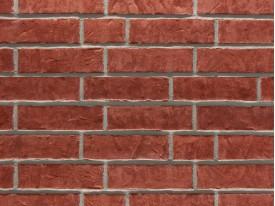 Клинкерная плитка Stroeher для вент. фасадных систем с пропилом и затиркой швов - «356 ERDFEUER»