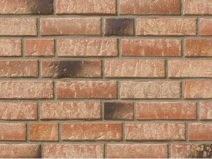Клинкерная плитка Stroeher для вент. фасадных систем с пропилом и затиркой швов - «357 BACKSTEIN»